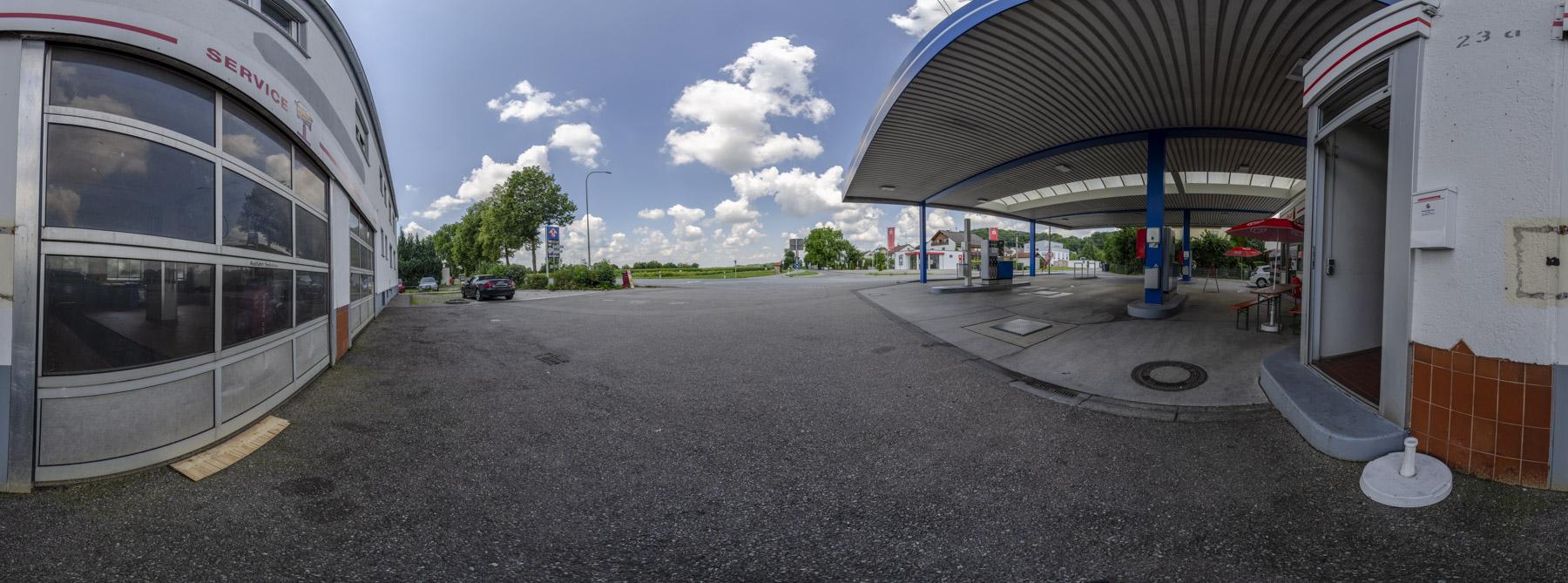 Tankstelle Mühlhausen 360°