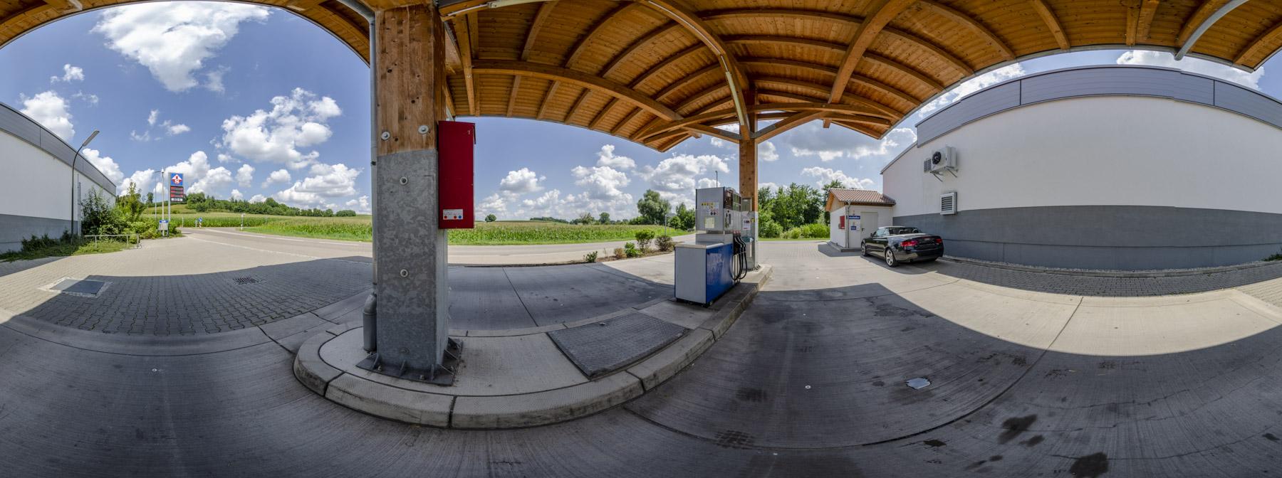 Tankstelle Aindling 360°