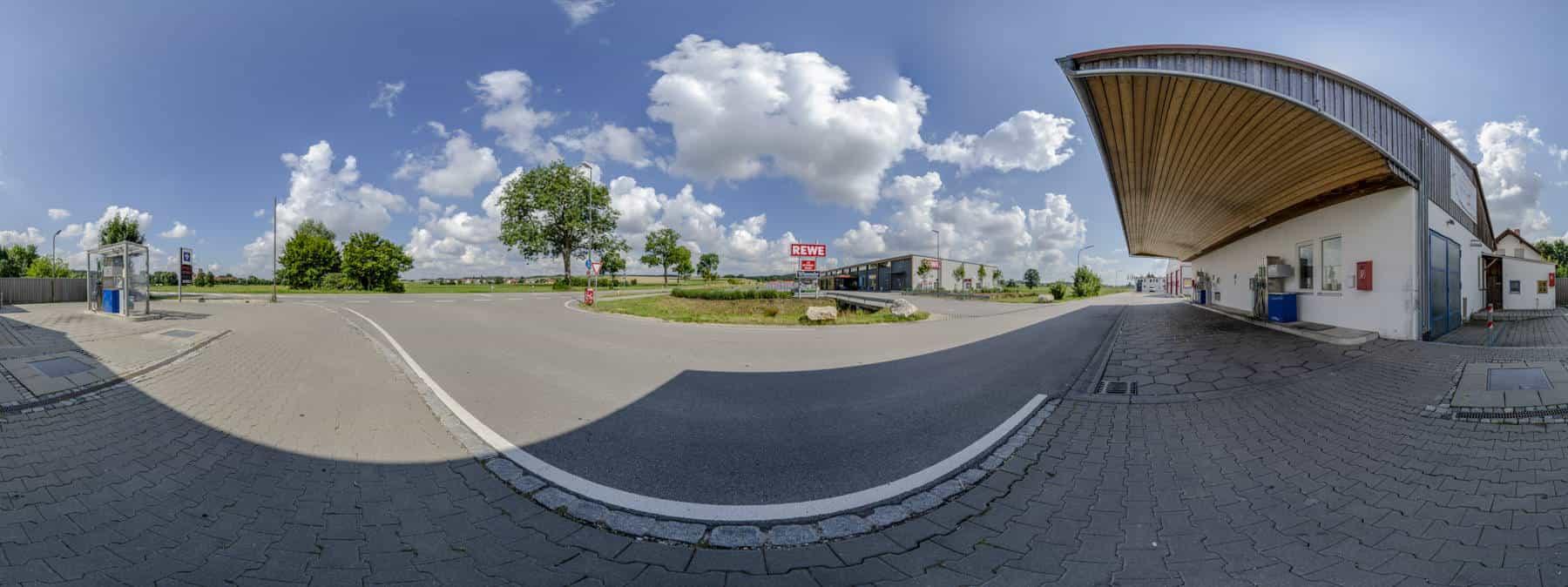 Tankstelle Hohenkammer 360°
