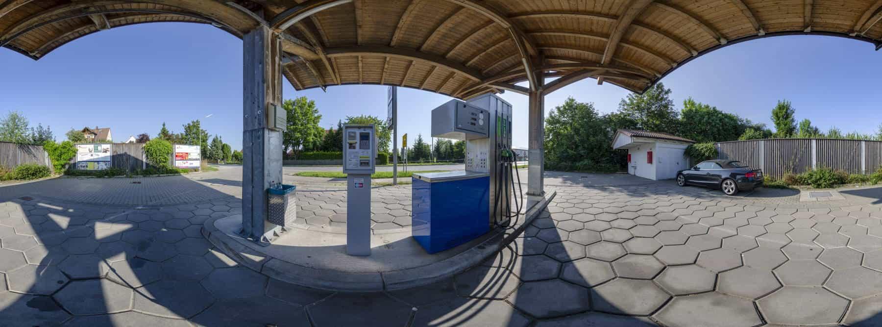 Tankstelle Erdweg 360°
