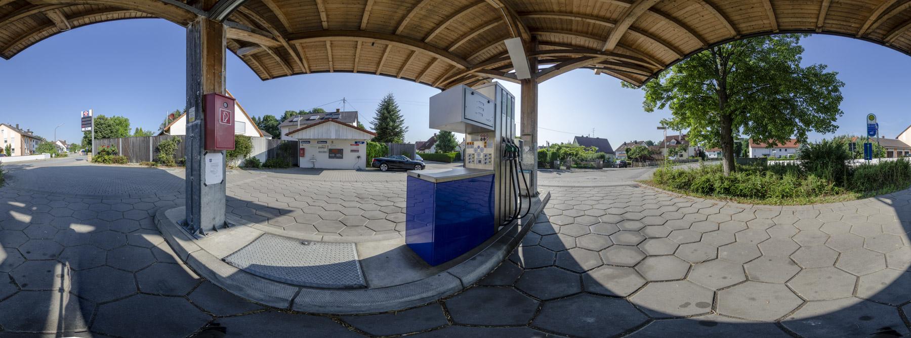 Tankstelle Niederroth 360°