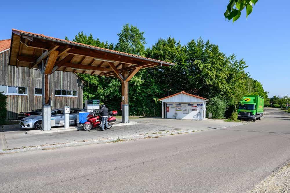 Tankstelle Röhrmoos