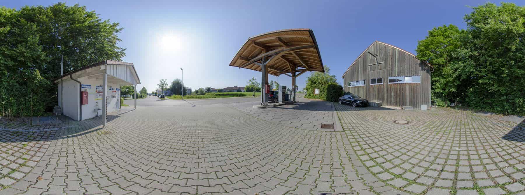Tankstelle Röhrmoos 360°