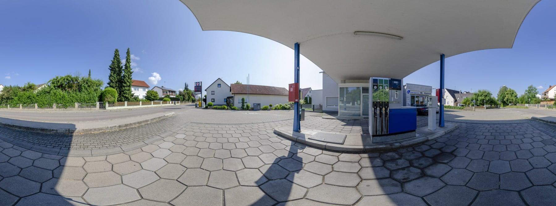 Tankstelle Weichs 360°