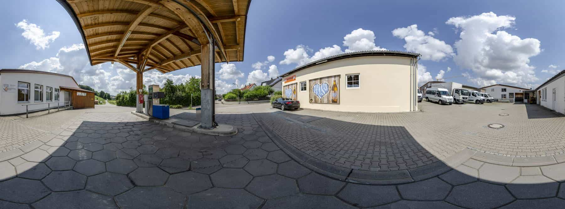 Tankstelle Gerolsbach 360°