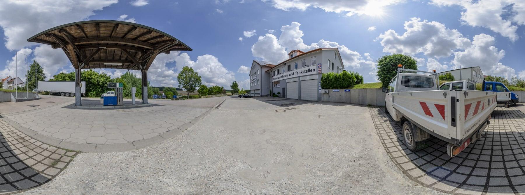 Tankstelle Alberzell 360°