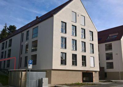 Vermietung 3-ZKB Wohnung mit eigenen Gartenteil im Zentrum Pfaffenhofens, Hohenwarter Straße 6