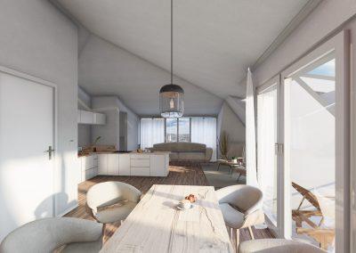 JAHN COLEUR – Neubau von 14 Wohnungen und 13 Reihenhäuser