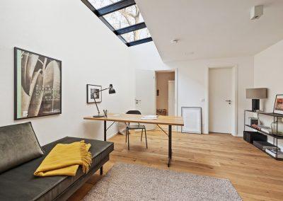 Leben & Arbeiten – 3 Zimmer Erdgeschosswohnung mit Garten & großem lichtdurchflutetem Hobbyraum